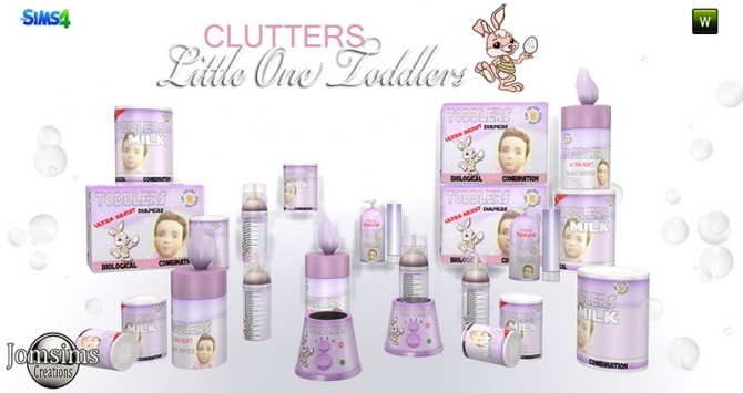 Little One deco clutters for toddlers at Jomsims Creations image 16213 670x355 Sims 4 Updates