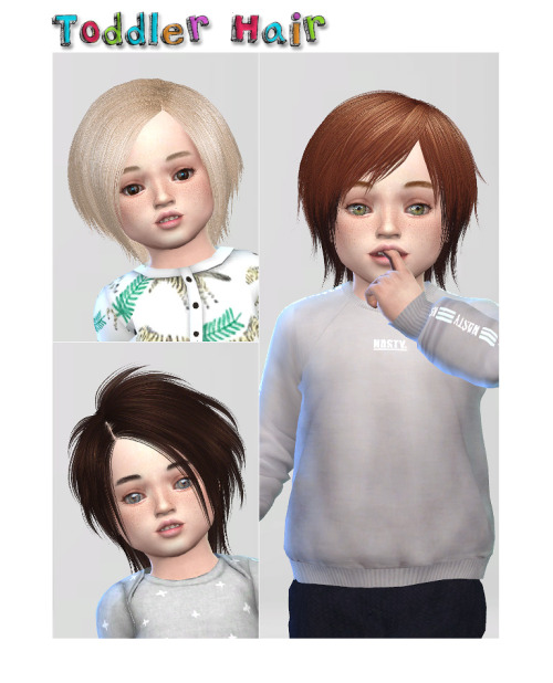Toddler Hair At Shojoangel 187 Sims 4 Updates
