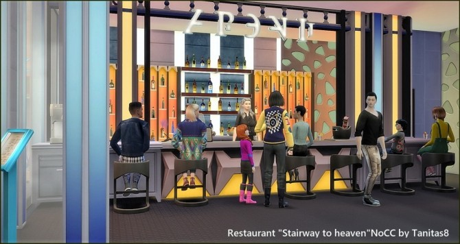 Stairway to heaven restaurant at Tanitas8 Sims image 1631 670x356 Sims 4 Updates