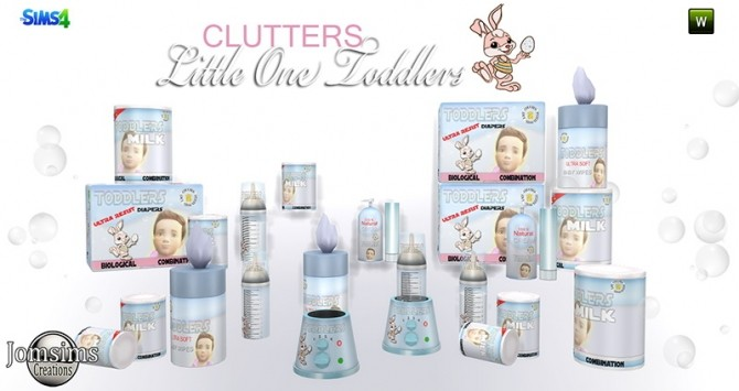 Little One deco clutters for toddlers at Jomsims Creations image 16311 670x355 Sims 4 Updates