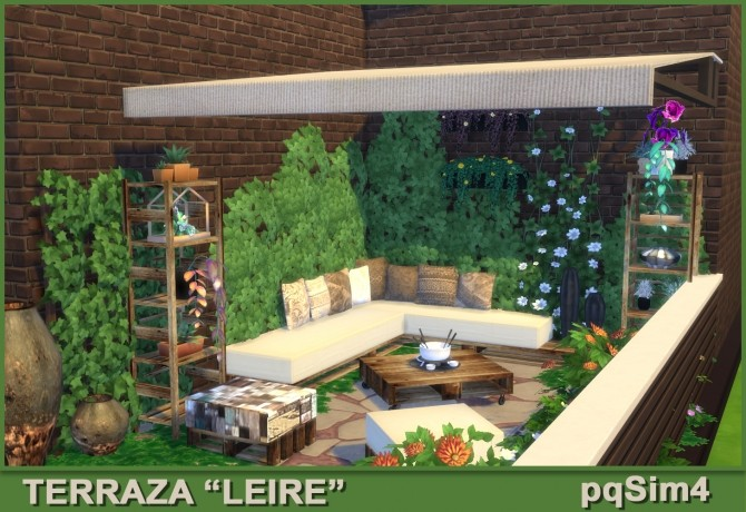 Leire patio by Mary Jiménez at pqSims4 image 1634 670x460 Sims 4 Updates