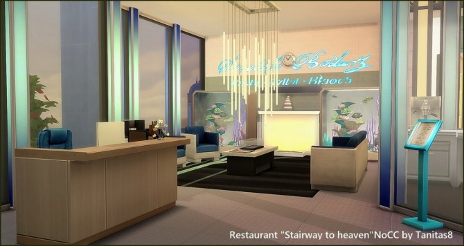 Stairway to heaven restaurant at Tanitas8 Sims image 1641 670x356 Sims 4 Updates