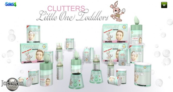 Little One deco clutters for toddlers at Jomsims Creations image 16411 670x355 Sims 4 Updates