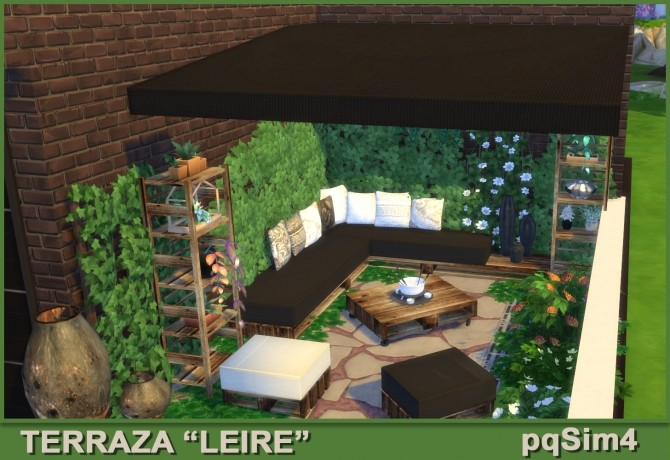 Leire patio by Mary Jiménez at pqSims4 image 1654 670x460 Sims 4 Updates