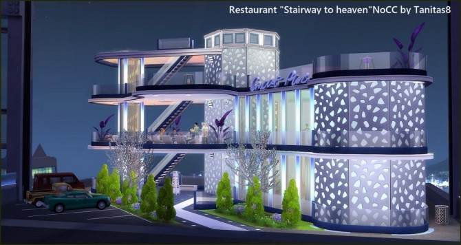 Stairway to heaven restaurant at Tanitas8 Sims image 1671 670x356 Sims 4 Updates