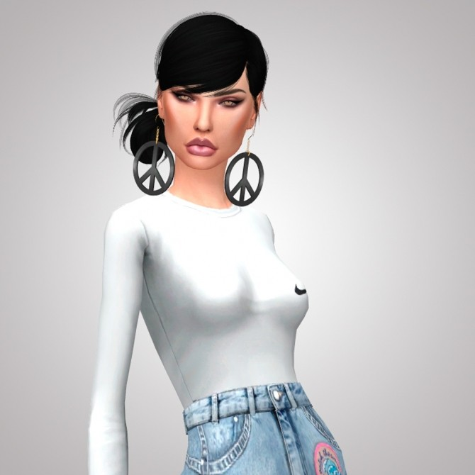 BLACK & WHITE BABE BODYSUIT at Candy Sims 4 image 1676 670x670 Sims 4 Updates