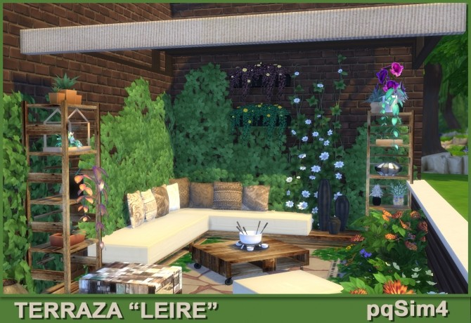 Leire patio by Mary Jiménez at pqSims4 image 1684 670x460 Sims 4 Updates