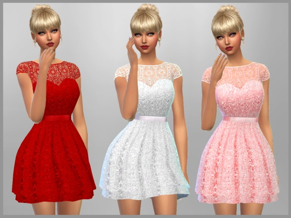 Emma Dress by SweetDreamsZzzzz at TSR image 1710 Sims 4 Updates