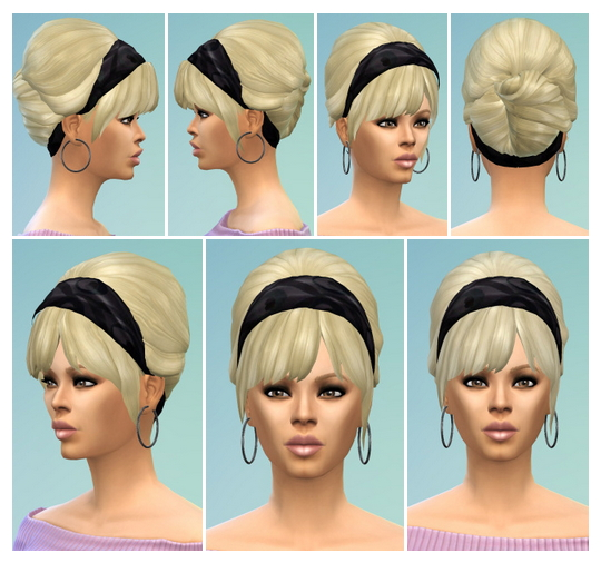 Sims 4 Beach Hair at Birksches Sims Blog