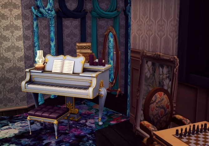 Old Hag recolour Collection couches and curtains at Valhallan image 1767 670x470 Sims 4 Updates