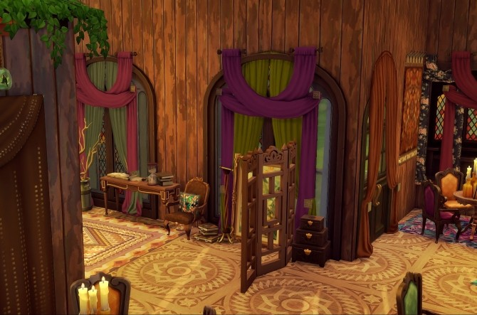 Old Hag recolour Collection couches and curtains at Valhallan image 1786 670x443 Sims 4 Updates
