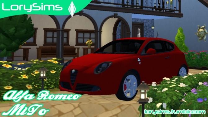 Alfa Romeo MiTo QV at LorySims image 181 670x377 Sims 4 Updates