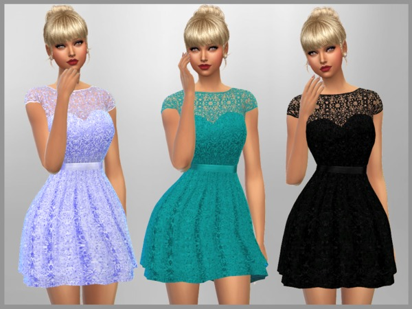 Emma Dress by SweetDreamsZzzzz at TSR image 1810 Sims 4 Updates