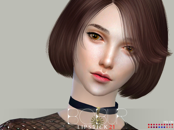 Lipstick 21 by Bobur3 at TSR image 1815 Sims 4 Updates