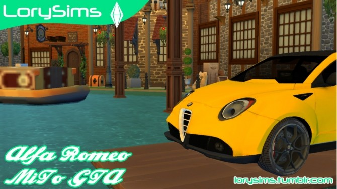 Alfa Romeo MiTo GTA Concept at LorySims image 185 670x377 Sims 4 Updates