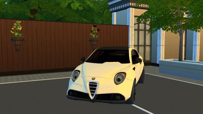 Sims 4 Alfa Romeo MiTo GTA Concept at LorySims