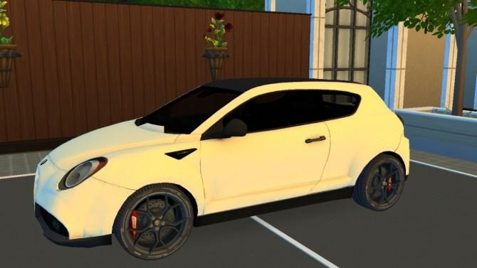 Alfa Romeo MiTo GTA Concept at LorySims image 187 670x377 Sims 4 Updates