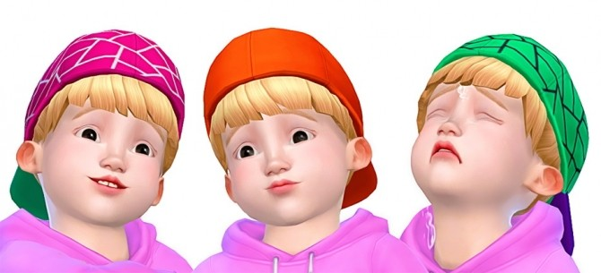 Sims 4 EA Toddler Cap at Rinvalee