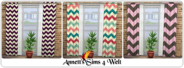 Ornaments Curtains at Annett's Sims 4 Welt image 1896 Sims 4 Updates