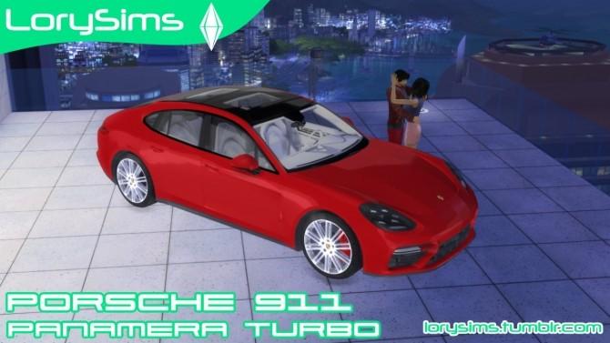 Porsche Panamera Turbo at LorySims image 1902 670x377 Sims 4 Updates