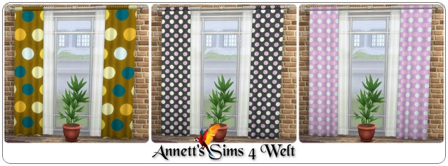 Ornaments Curtains at Annett's Sims 4 Welt image 1906 Sims 4 Updates