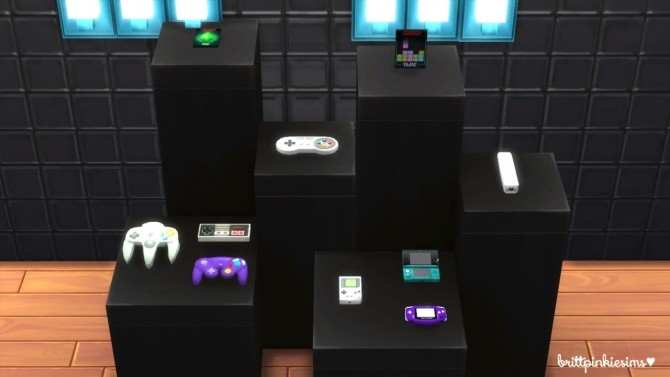 Gaming Set at Brittpinkiesims image 191 670x377 Sims 4 Updates