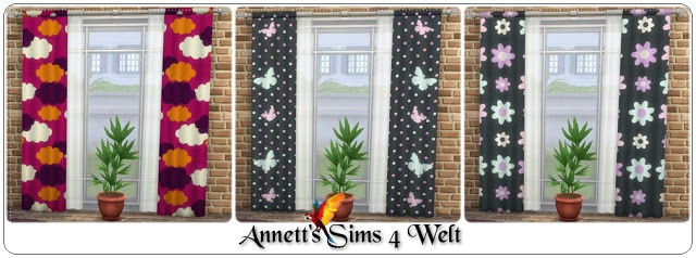 Ornaments Curtains at Annett's Sims 4 Welt image 19112 Sims 4 Updates