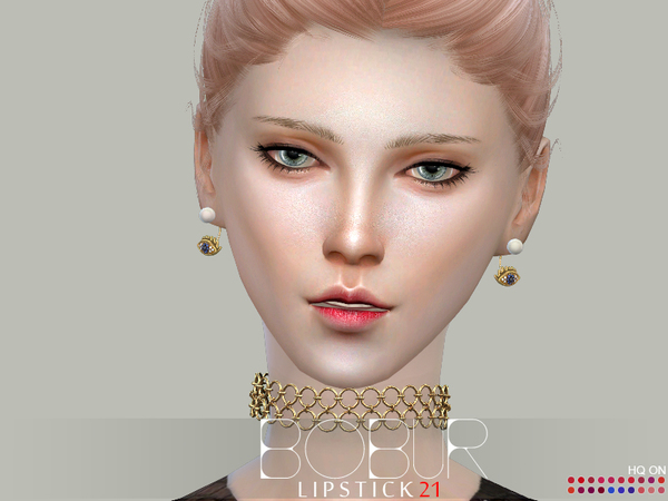 Lipstick 21 by Bobur3 at TSR image 1915 Sims 4 Updates