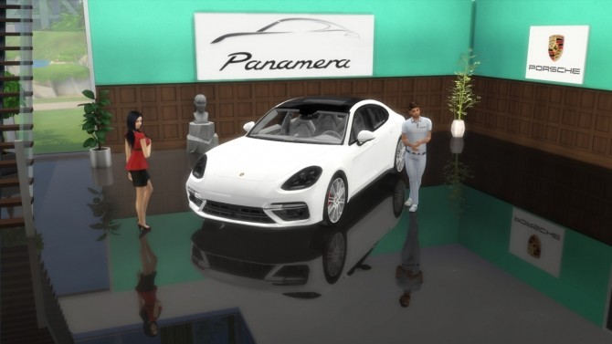 Porsche Panamera Turbo at LorySims image 1917 670x377 Sims 4 Updates