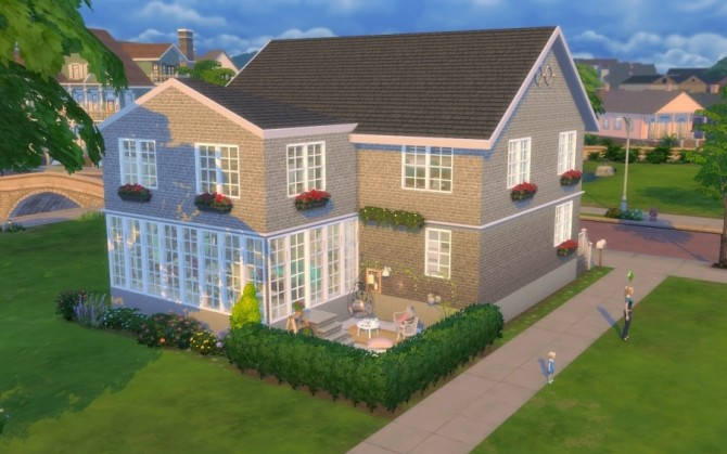 Bohème Chic house by Bloup at Sims Artists image 1949 670x419 Sims 4 Updates