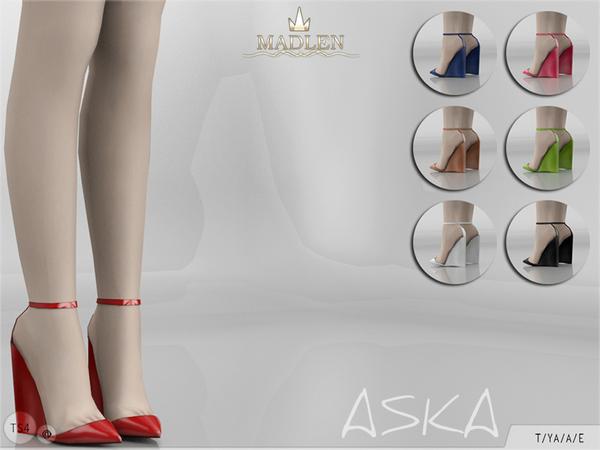 Madlen Aska Shoes by MJ95 at TSR image 195 Sims 4 Updates