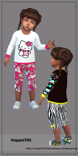 Sims 4 Sweater And Pants at Hoppel785