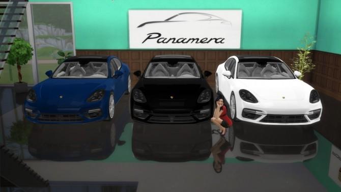 Porsche Panamera Turbo at LorySims image 1972 670x377 Sims 4 Updates