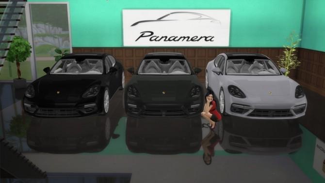 Porsche Panamera Turbo at LorySims image 1982 670x377 Sims 4 Updates