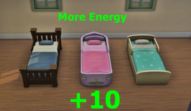 EA Toddler Beds Energy 10 At Chalearas Sims 4 Poses