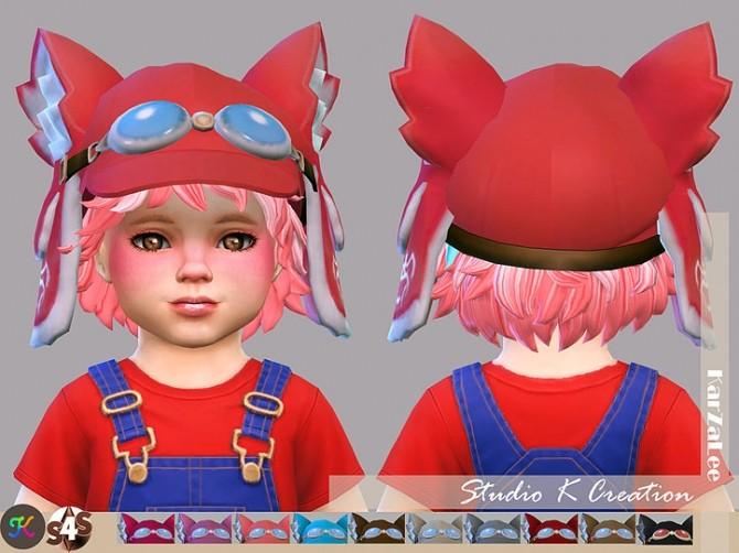 Sims 4 Nekomeme cap toddler version at Studio K Creation