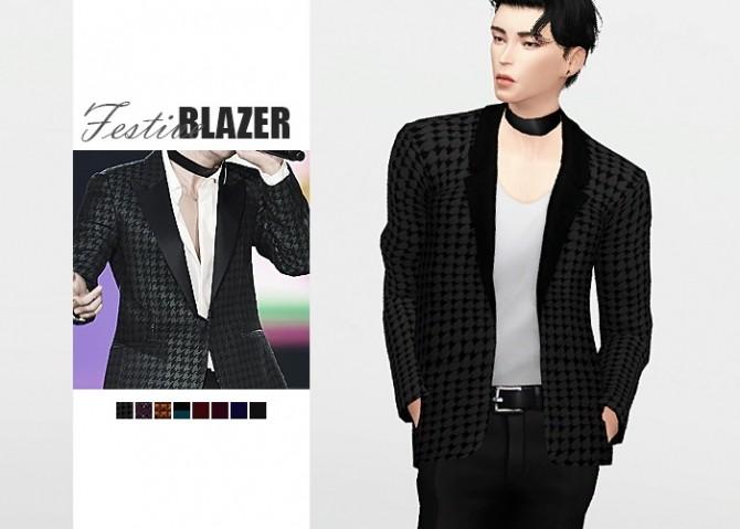 Sims 4 Festive Blazer at Waekey