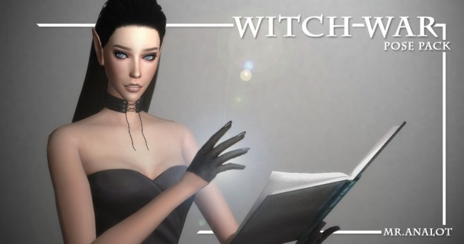 Witch War Poses Pack At Mr Analot 187 Sims 4 Updates