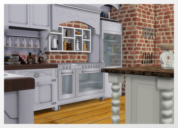 Room Kitchen by Oldbox at All 4 Sims image 2061 Sims 4 Updates