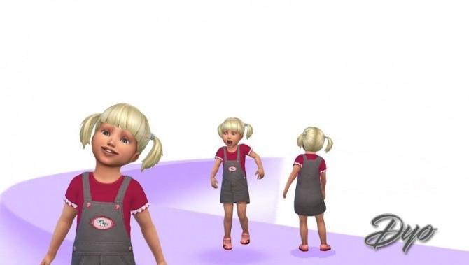 Gladys dress by Dyokabb at Les Sims4 image 2066 670x379 Sims 4 Updates