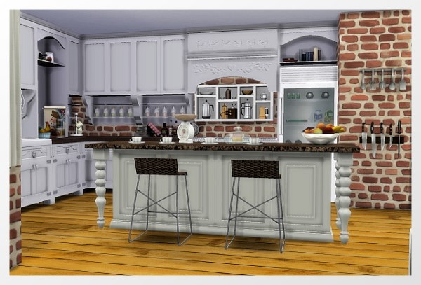 Room Kitchen by Oldbox at All 4 Sims image 2071 Sims 4 Updates