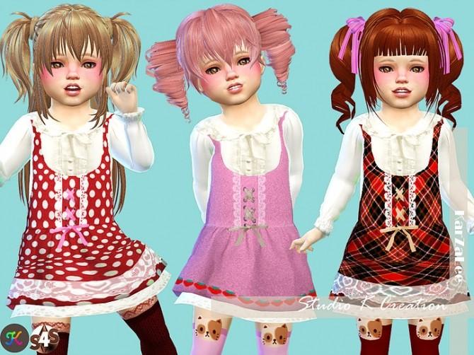 Sims 4 SecretPink Luludress TYPEA toddler at Studio K Creation