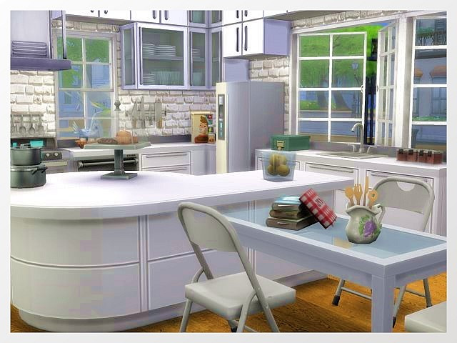Sims 4 Erlenweg house by Oldbox at All 4 Sims