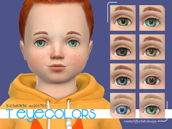 Sims 4 Eyecolors 201703 by S Club WM at TSR