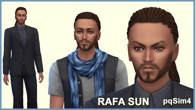 Sims 4 Rafa Sun by Mary Jiménez at pqSims4