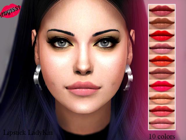 Sims 4 Lipstick lady kin at Angissi