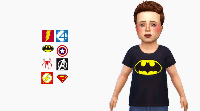 Super Collection Shirts at Simiracle image 2143 Sims 4 Updates