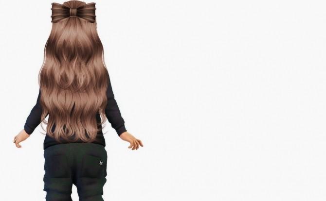 Ade Liza (Bow) Hair Toddler Version at Simiracle image 2176 670x414 Sims 4 Updates