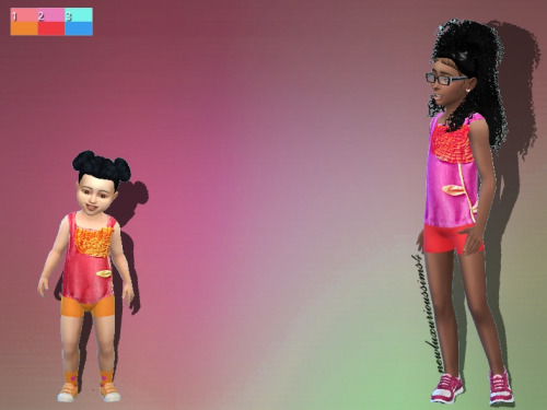 FLOWER CHILD/TODDLER outfit at NEW Luxurious Sims 4 image 2183 Sims 4 Updates