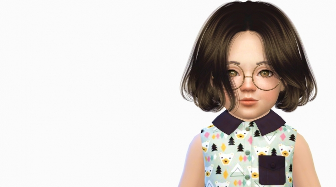 Anto Thorns Hair Toddler Version At Simiracle 187 Sims 4 Updates